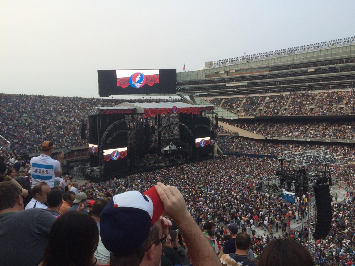 Soldier Field Section 334 Row 10 Seat 1