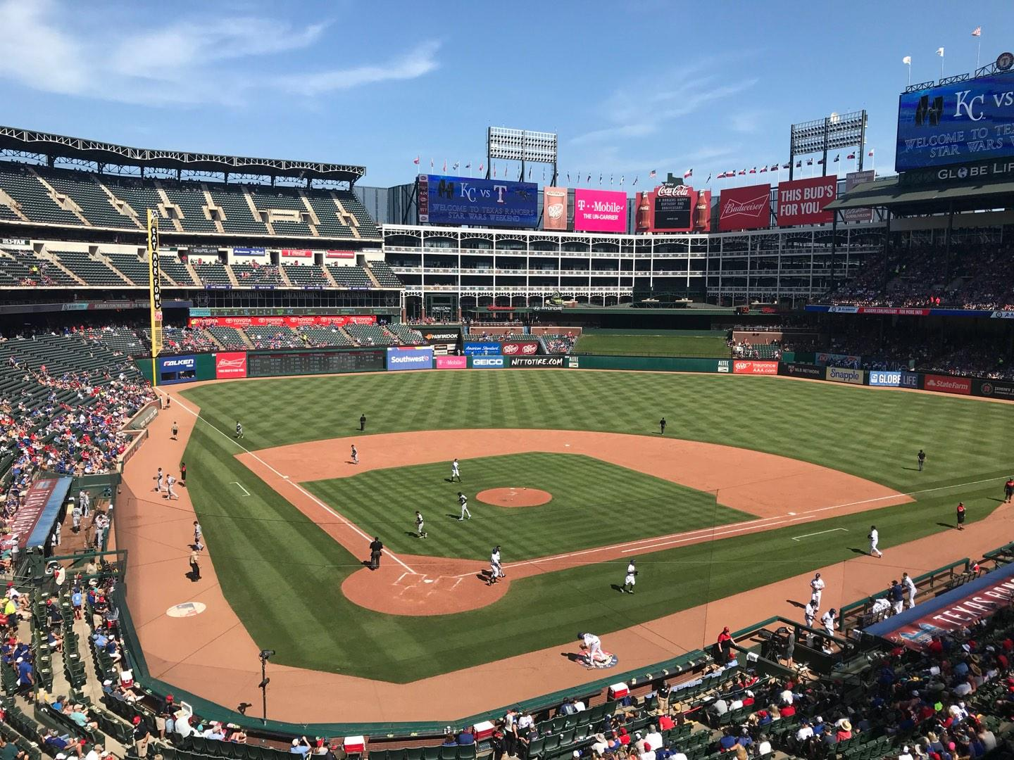 Globe Life Park in Arlington Section 228 Row 1 Seat 7