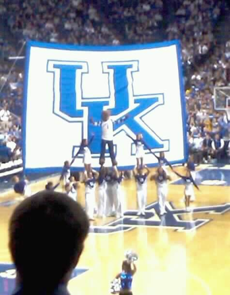 Rupp Arena Section 20 Row m  Seat 4