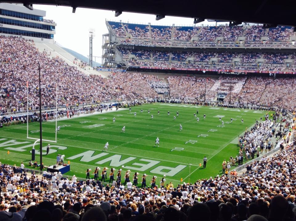 Beaver Stadium Section NC Row 59 Seat 12