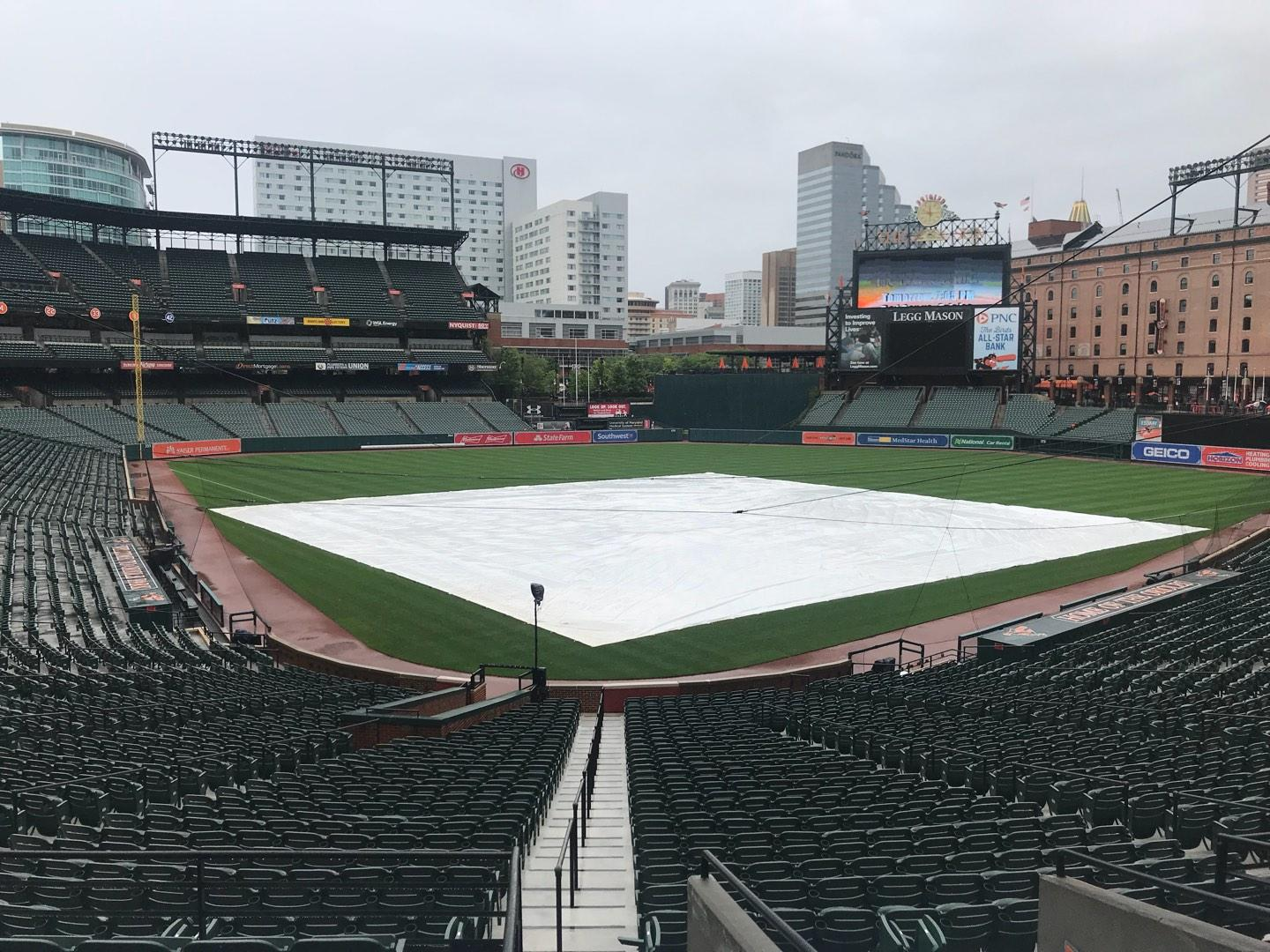 Oriole Park at Camden Yards Section 35 Row 1