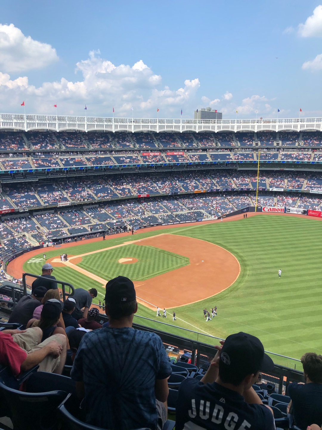 Yankee Stadium Section 411 Row 7 Seat 9