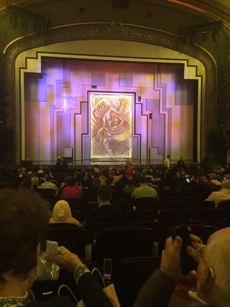 Lyric Theatre Section ORCH Row T Seat 104