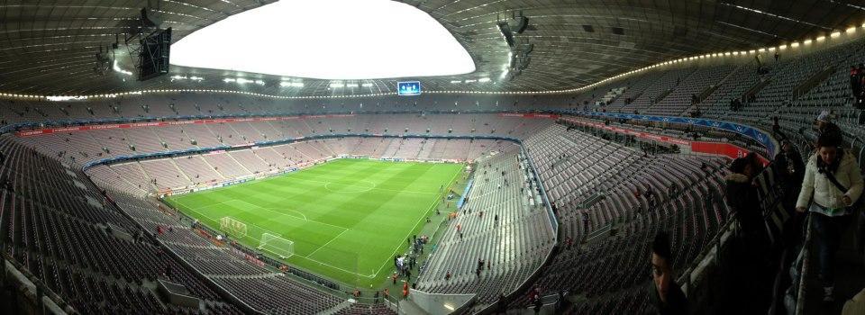 Allianz Arena Section 345 Row 1