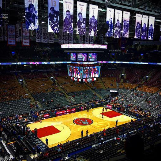 Toronto Raptors Seat View for Air Canada Centre Section 311, Row 8, Seat 18