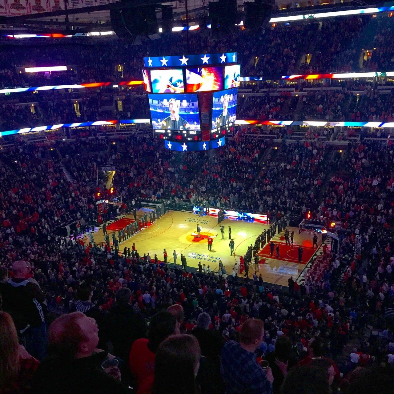 Exterior: United Center Section 315