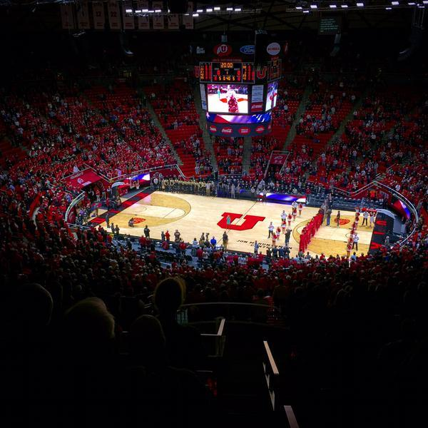 Jon M. Huntsman Center Section ZZ Row 44 Seat 28