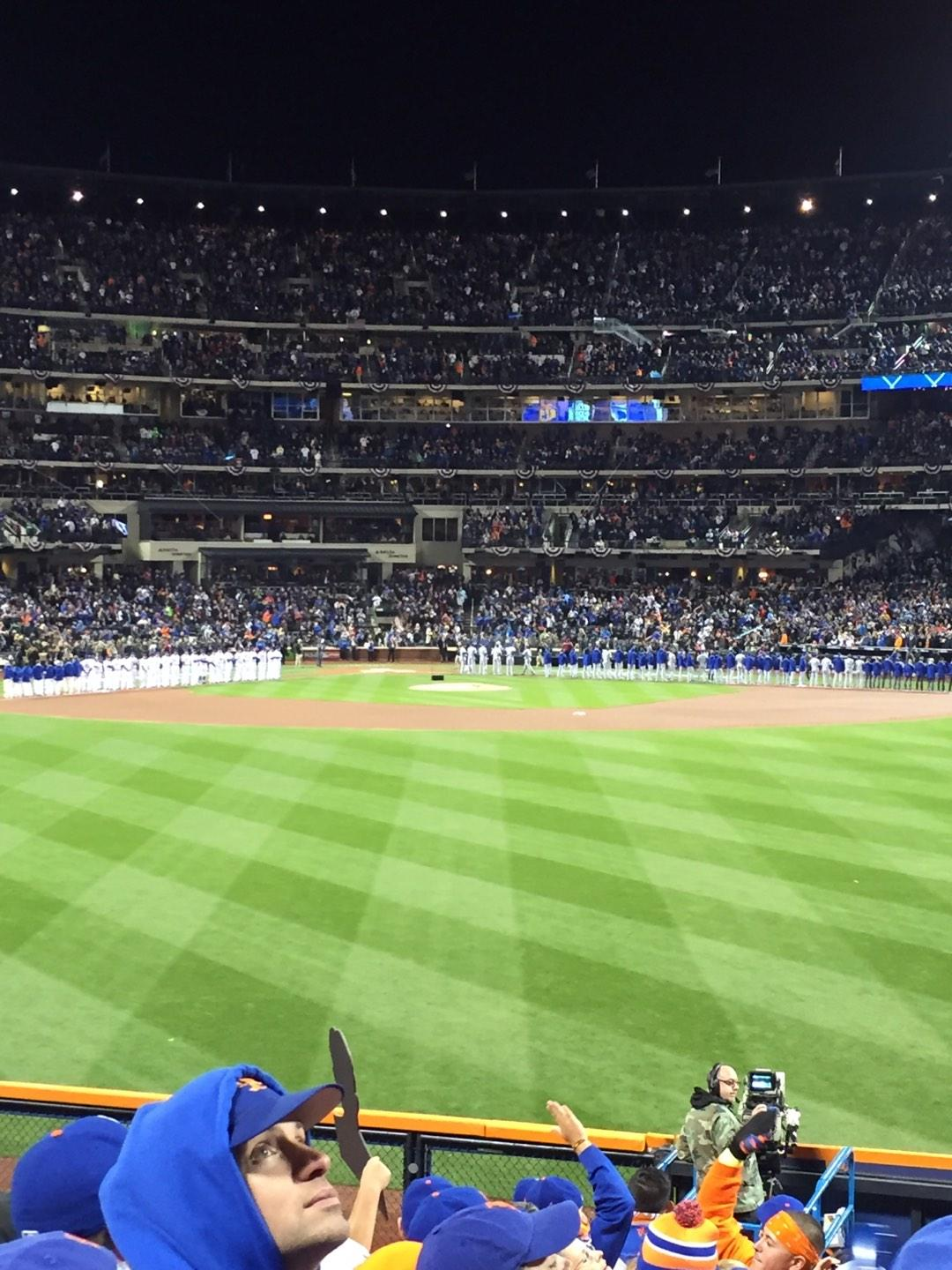 Citi Field Section 142 Row 8
