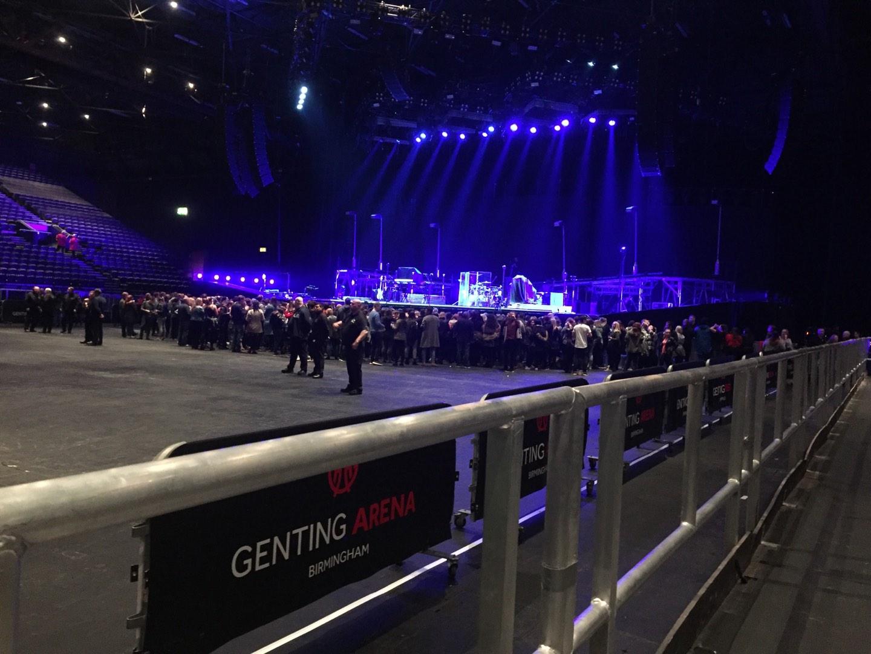 Resorts World Arena Section WA Row A Seat 37