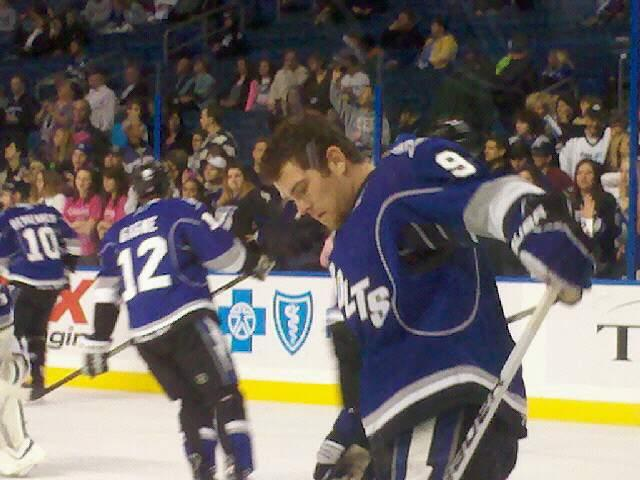 Amalie Arena Section 129 Row a Seat 5