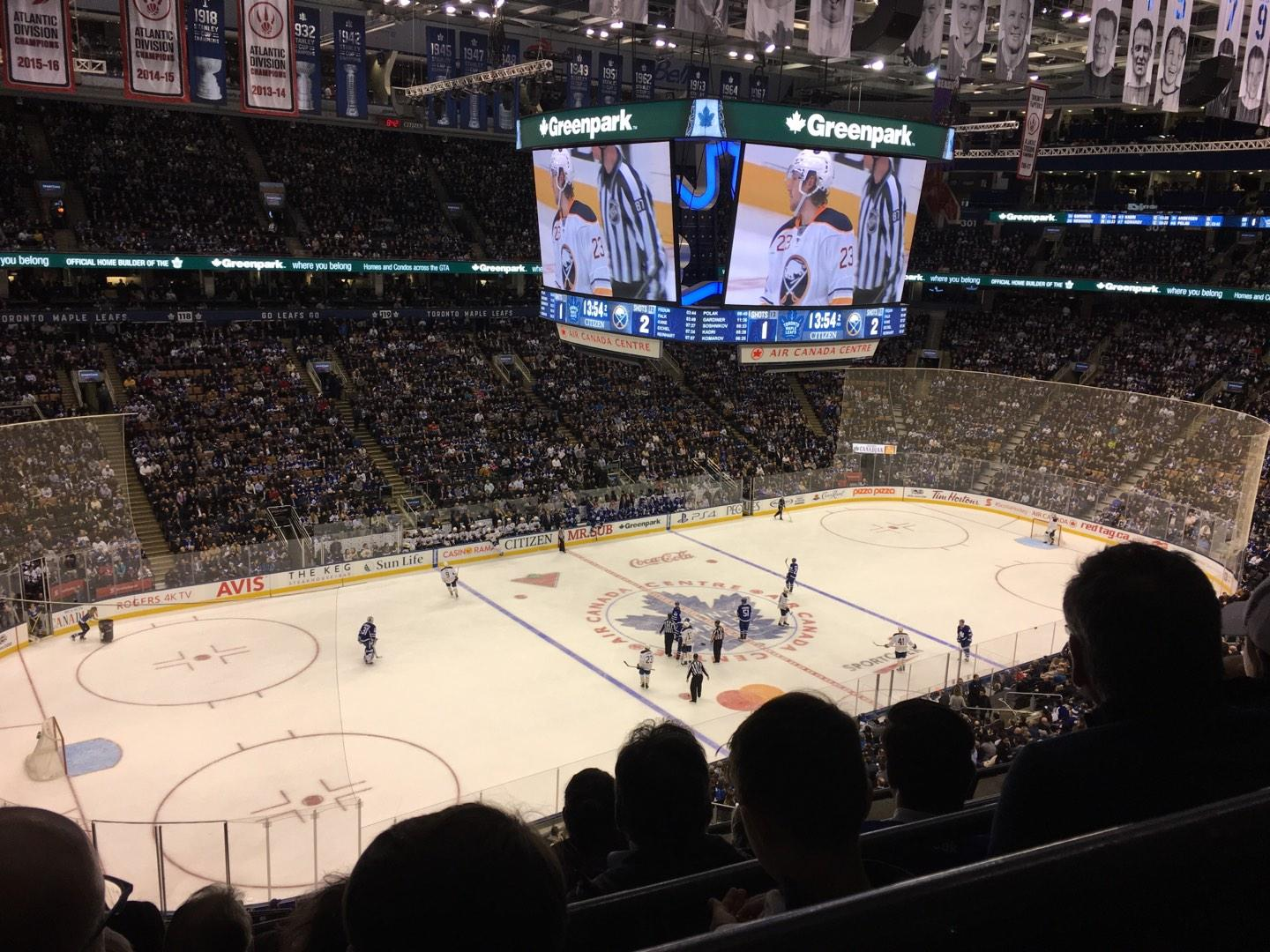 Scotiabank Arena Section 311 Row 5 Seat 19