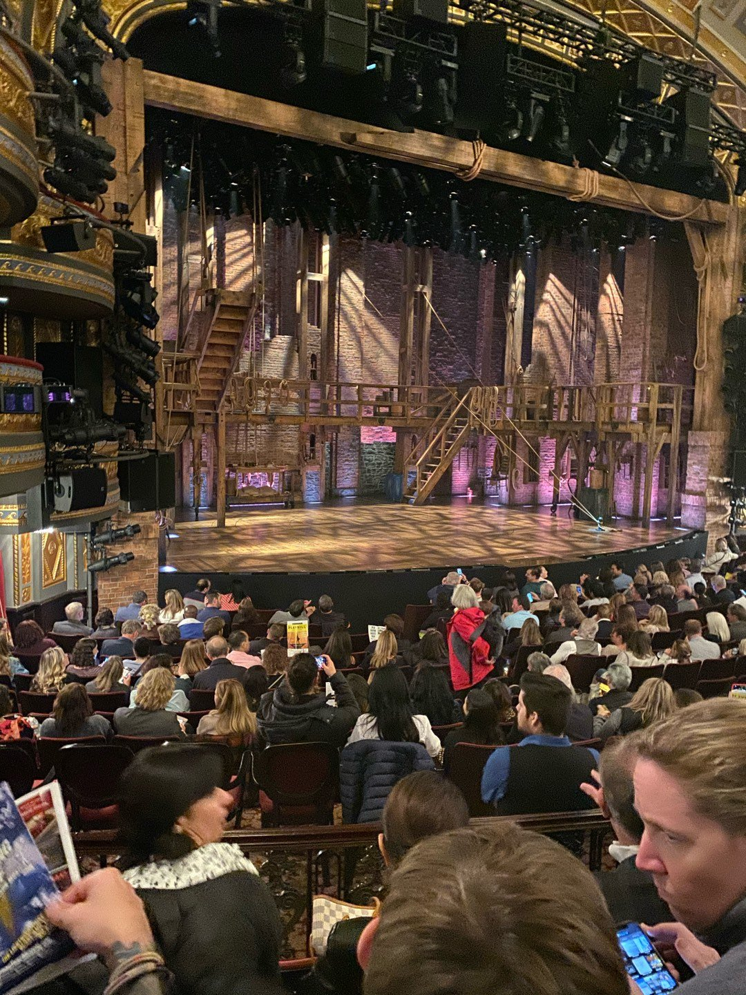 Richard Rodgers Theatre Section Orchestra L Row O Seat 23