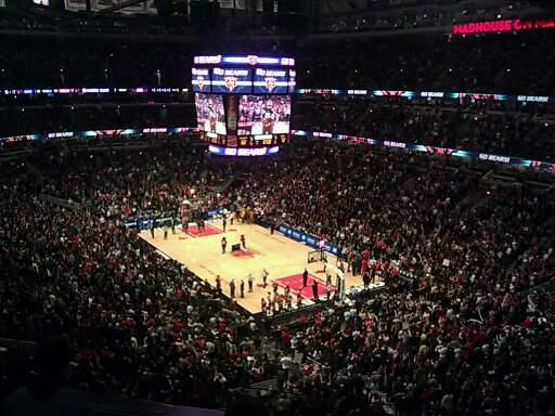 United Center Section 314 Row 2 Seat 5
