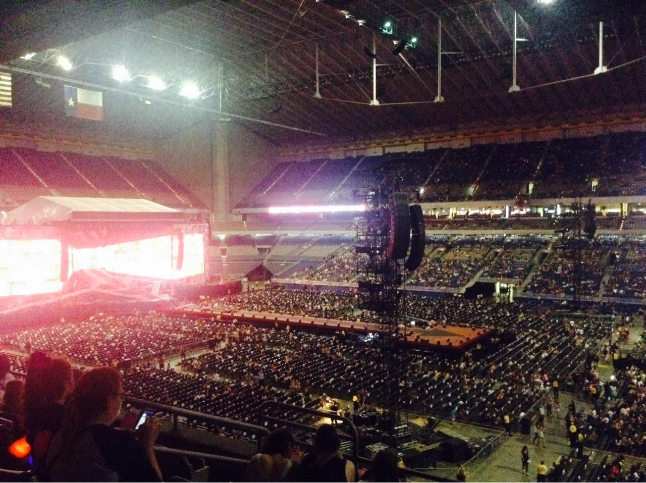 Concert Seat View for Alamodome Section 209, Row 6, Seat 17