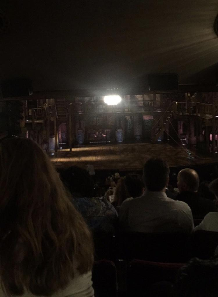 Richard Rodgers Theatre Section Orchestra Row W Seat 110