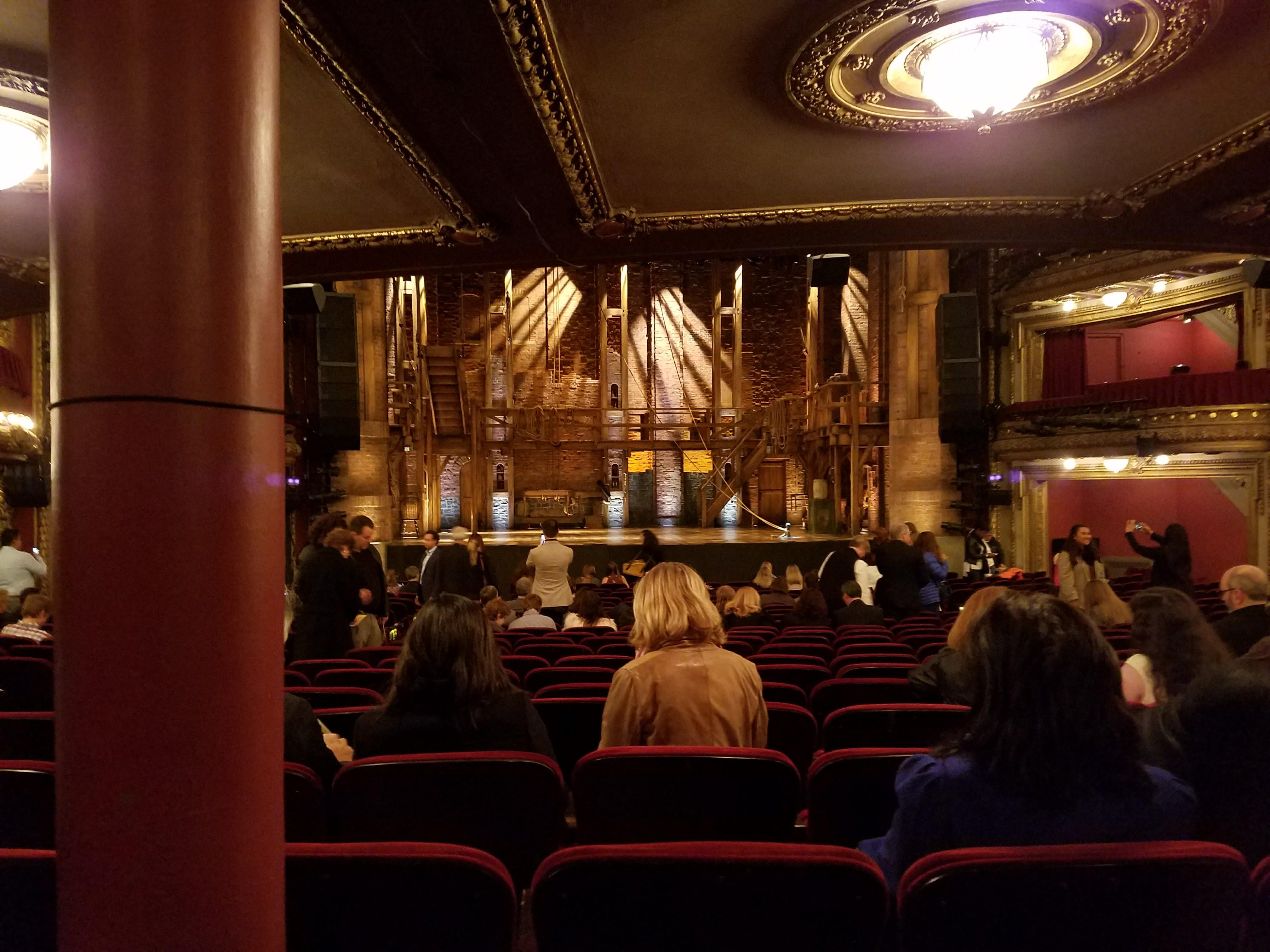 CIBC Theatre Section Orchestra C Row X Seat 109
