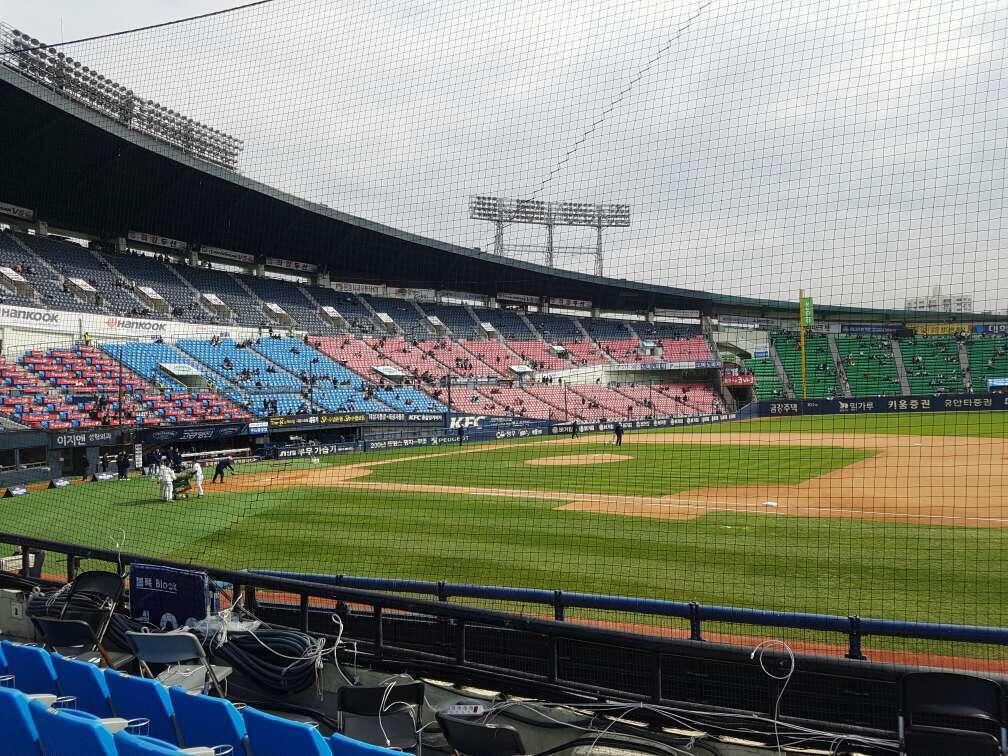 Jamsil Baseball Stadium Section 107 Row 5 Seat 73