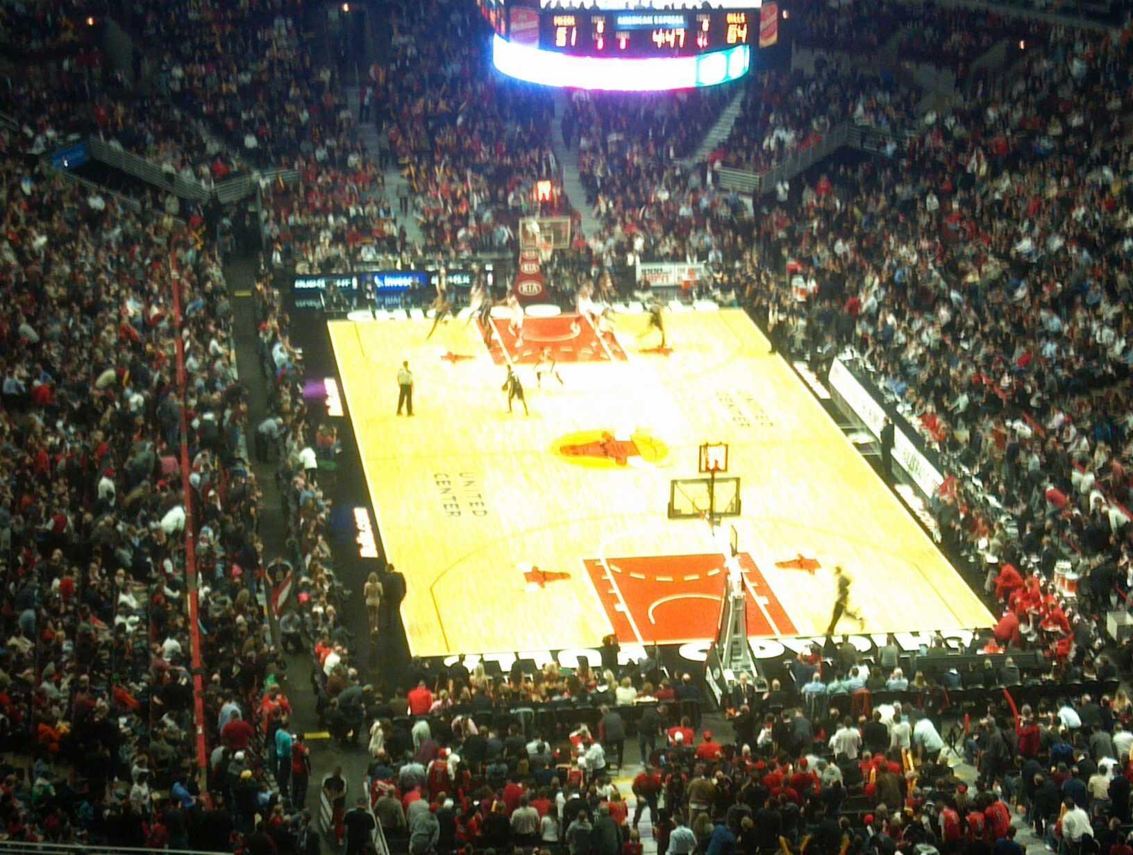 United Center Section 310 Row 15 Seat 18