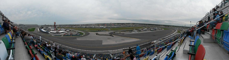Daytona International Speedway Section 382 Row 18 Seat 11