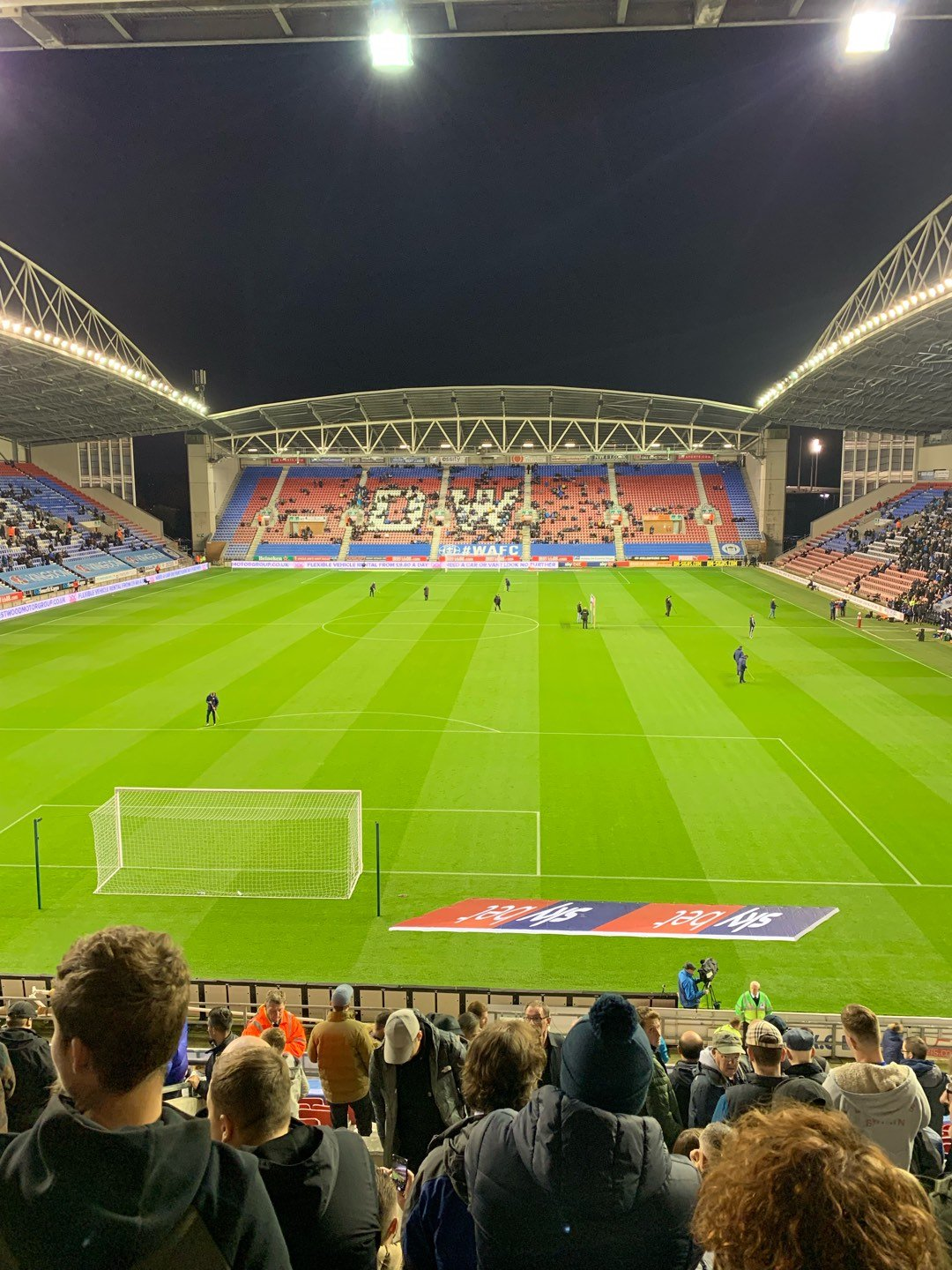 DW Stadium Row AA Seat 72