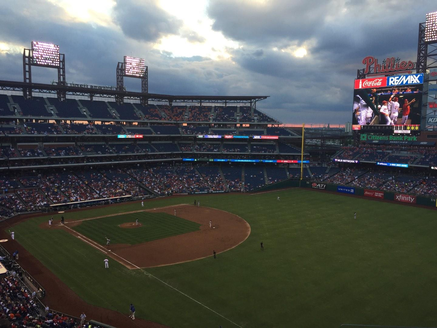 Citizens Bank Park Section 309 Row 6 Seat 3