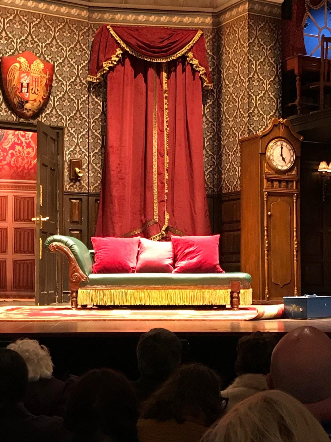 Lyceum Theatre (Broadway) Section Orchestra C Row E Seat 111