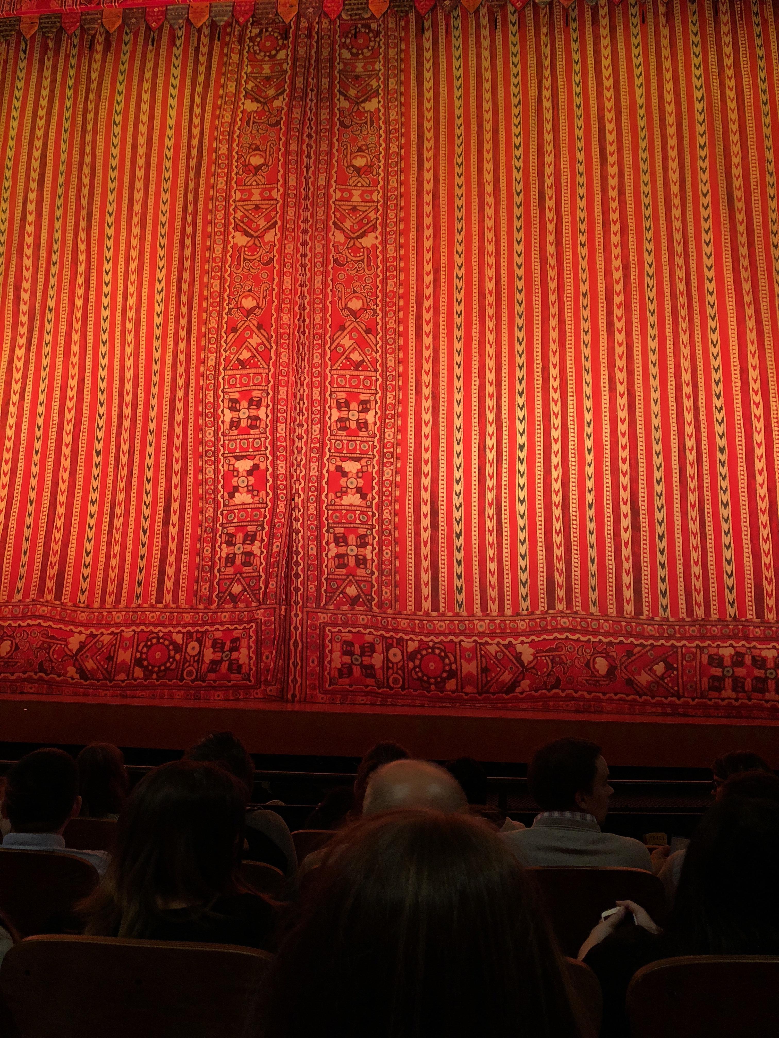 New Amsterdam Theatre Section Orchestra C Row E Seat 104