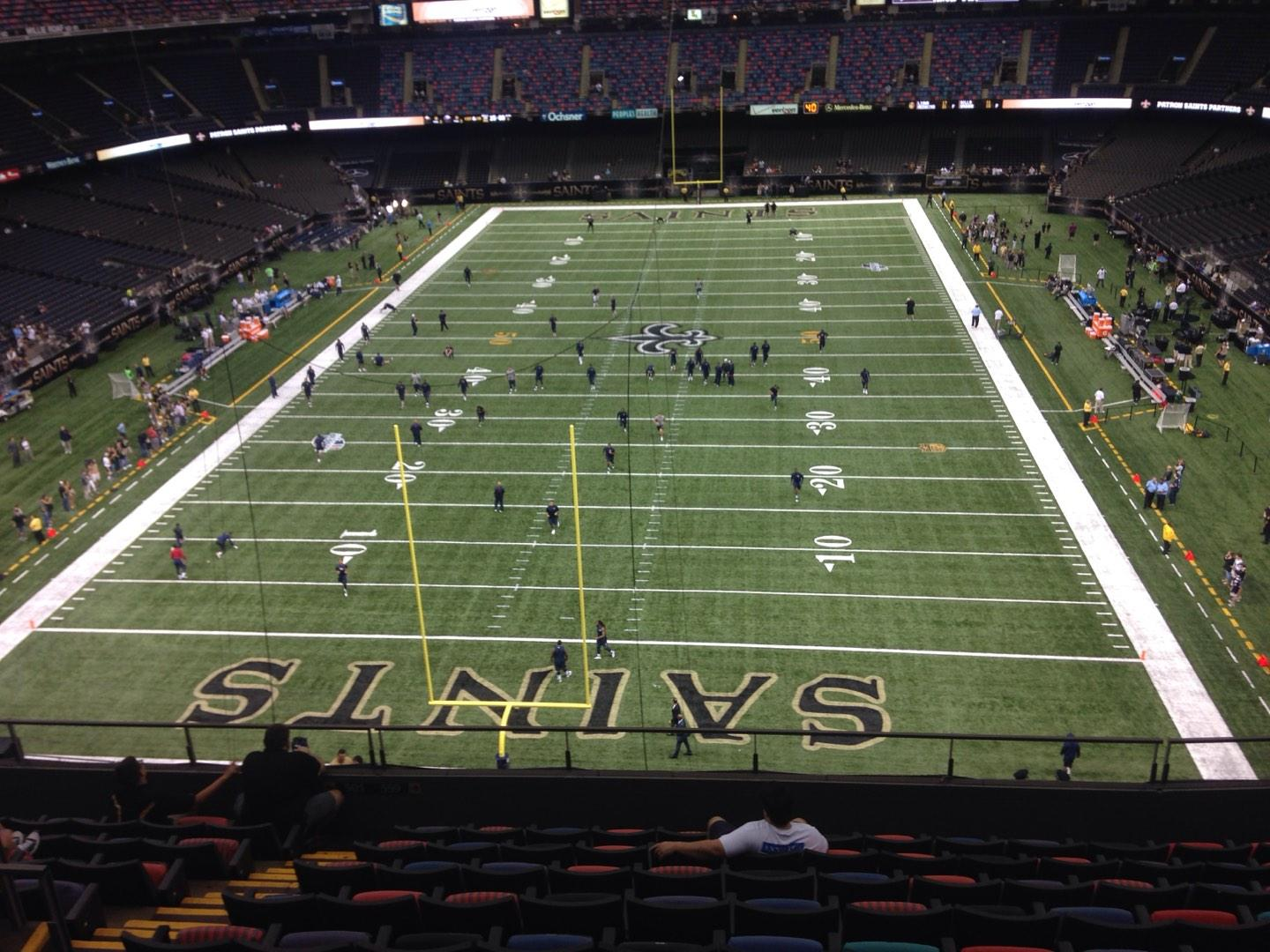 Mercedes-Benz Superdome Section 652 Row 6 Seat 10