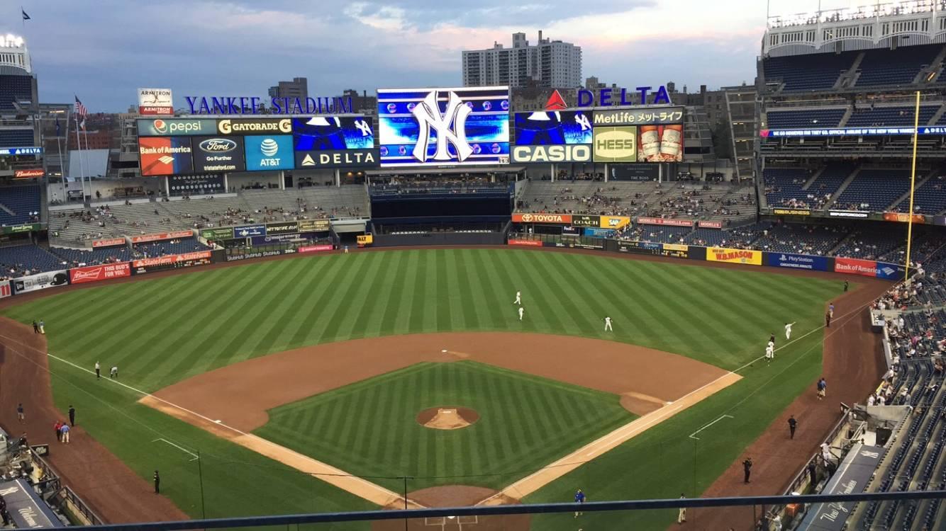 Yankee Stadium Section 320B Row 2 Seat 9