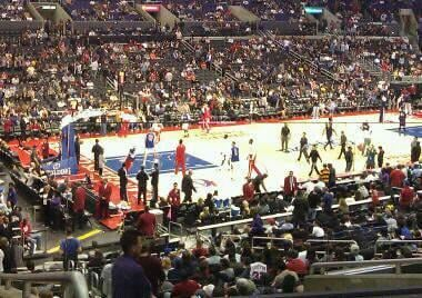 Staples Center Section pr8