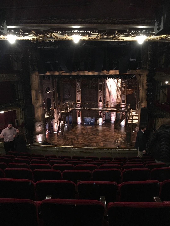 CIBC Theatre Section Mezzanine RC Row J Seat 322