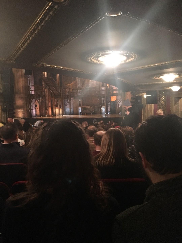 CIBC Theatre Section Orchestra R Row V Seat 10