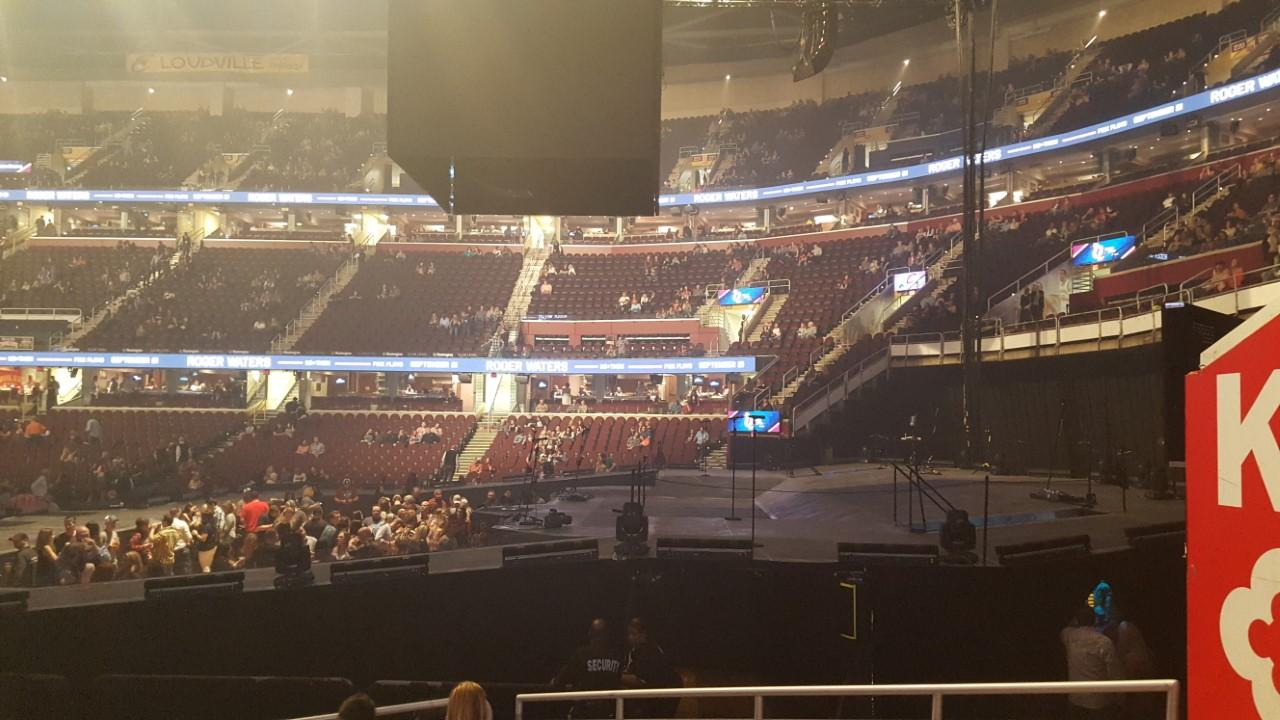 Quicken Loans Arena Section 111 Row 11 Seat 16