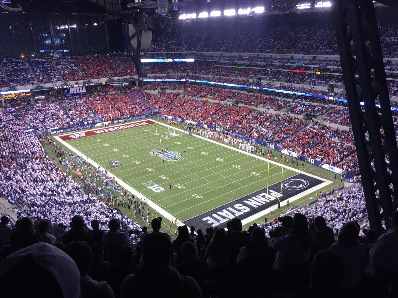 Lucas Oil Stadium Section 631 Row 19 Seat 6