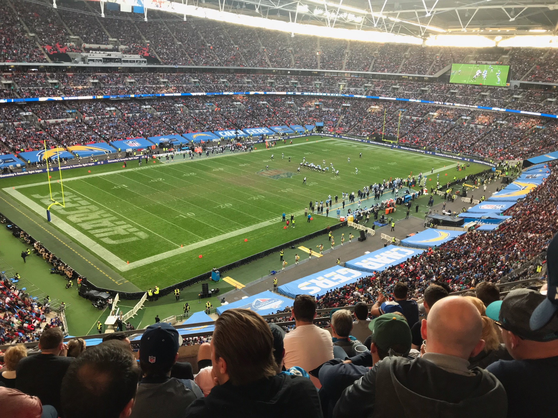 Wembley Stadium Section 507 Row 7 Seat 186