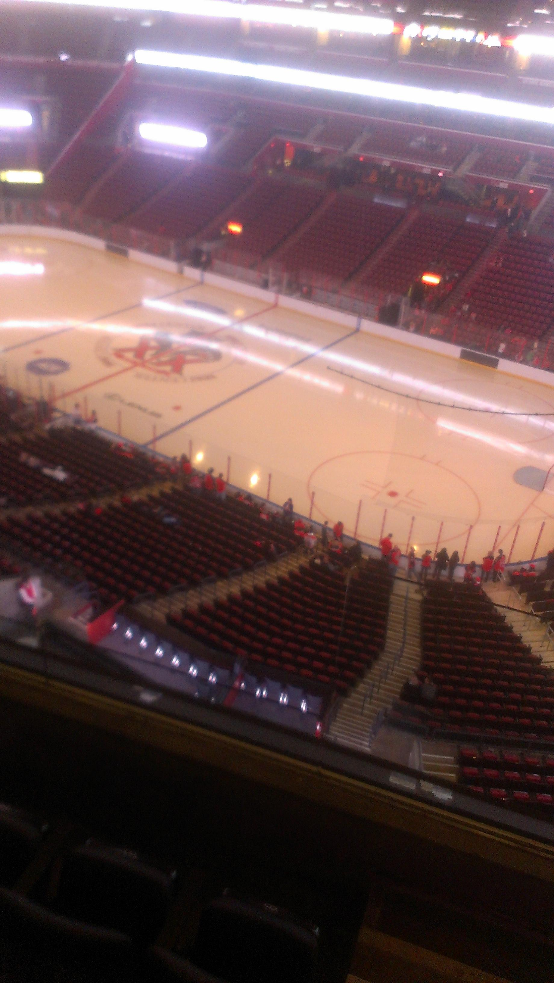BB&T Center section 415 row 2 seat 2 - Florida Panthers vs Tampa Bay Lightning