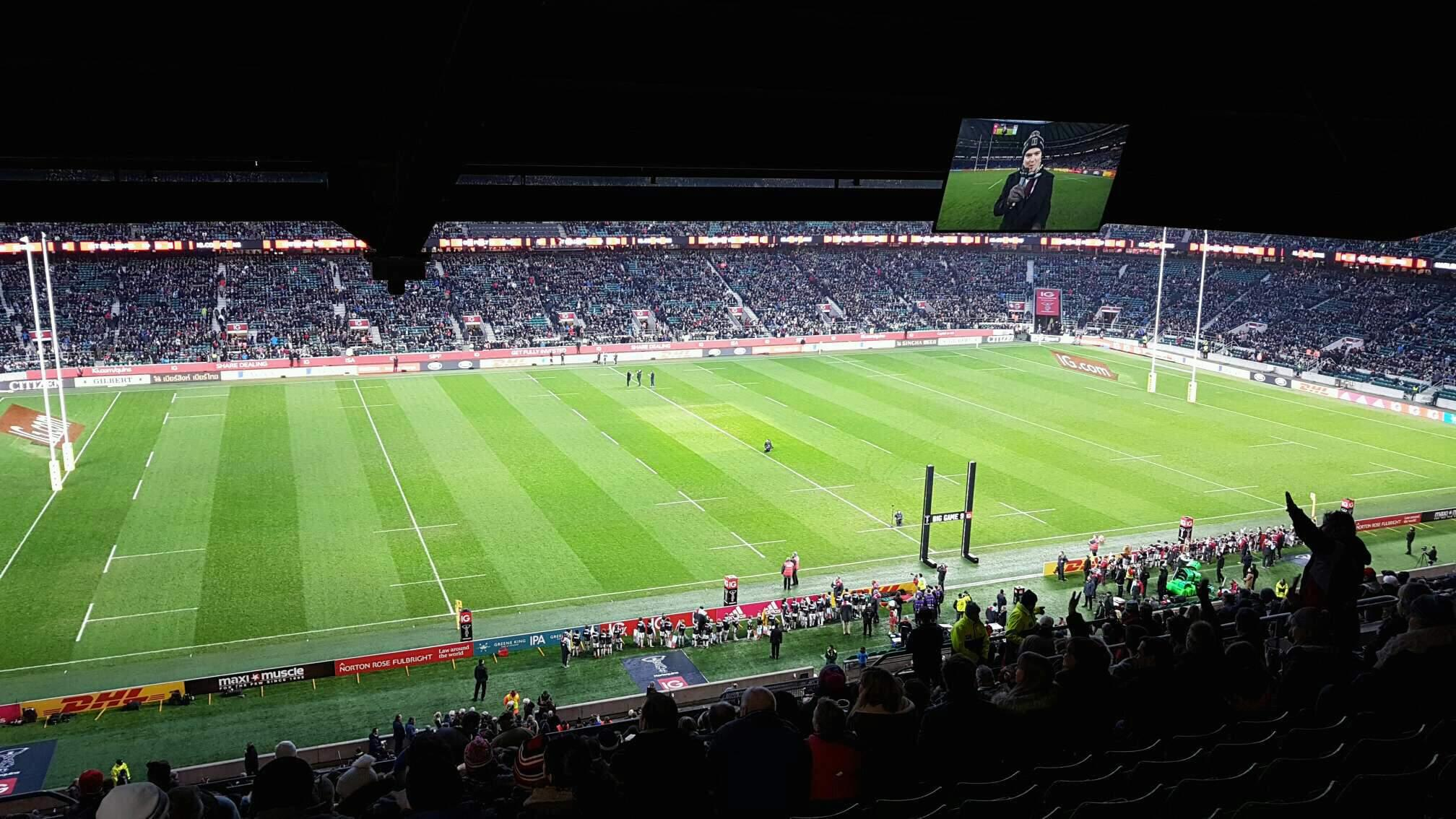 Twickenham Stadium Section M10 Row 75 Seat 252