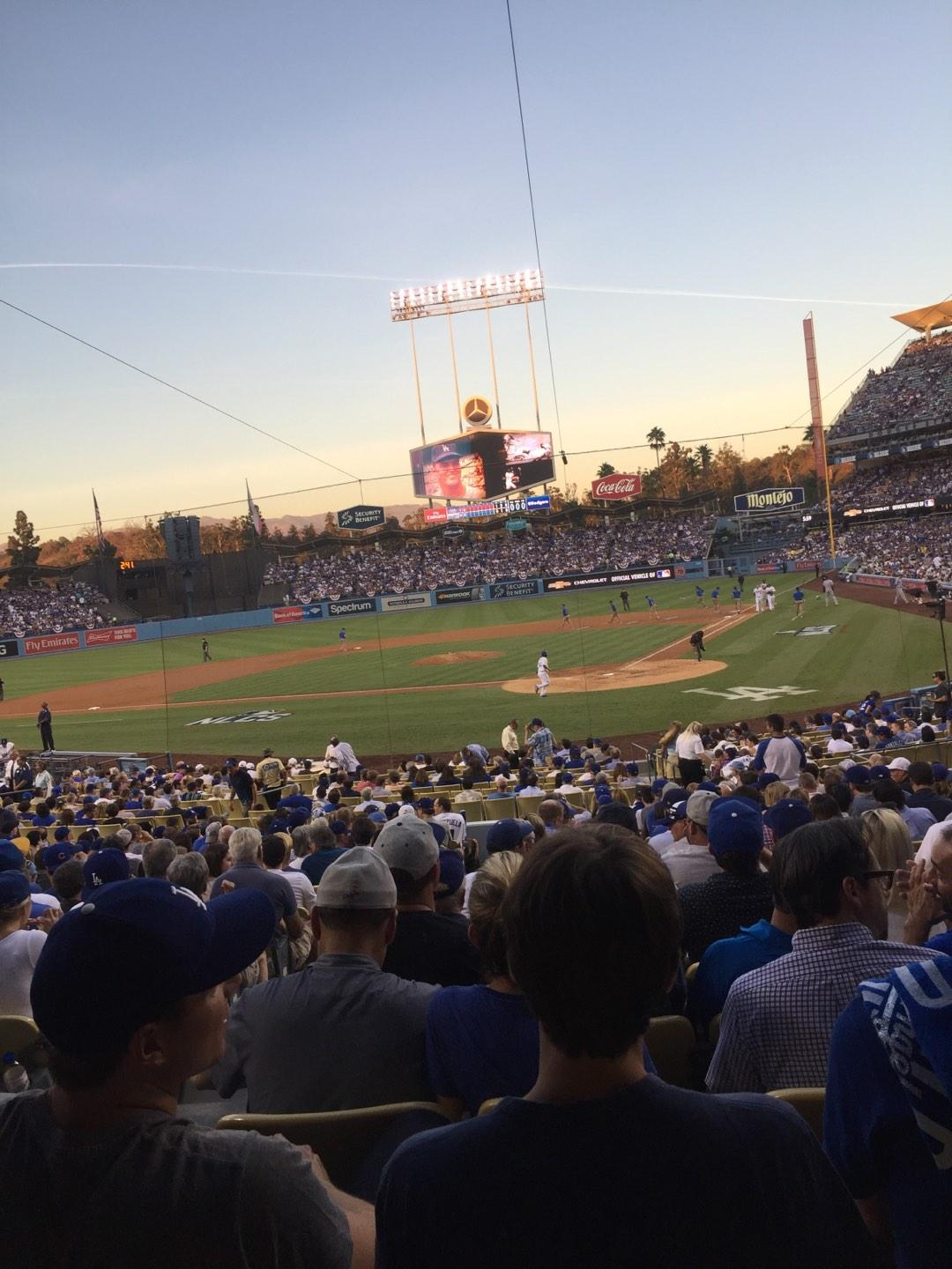 Dodger Stadium Section 5FD Row U Seat 12
