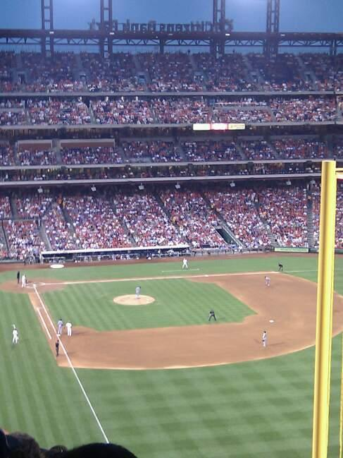 Citizens Bank Park Section 306 Row 18 Seat 6
