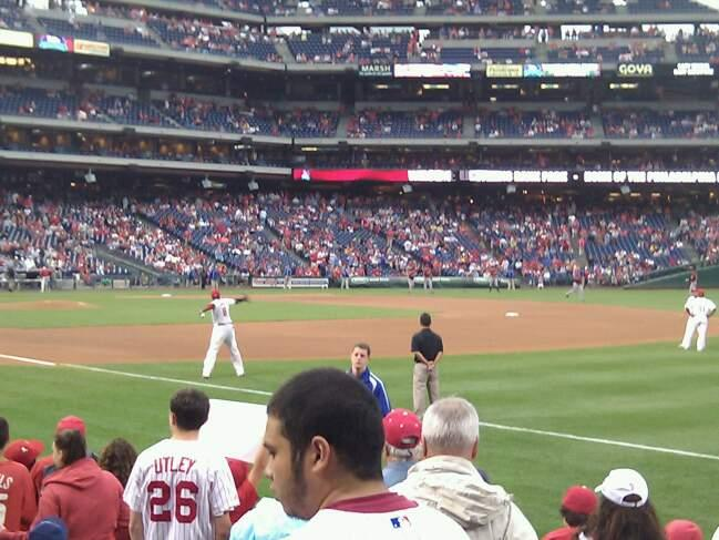 Citizens Bank Park Section 111 Row 9 Seat 3