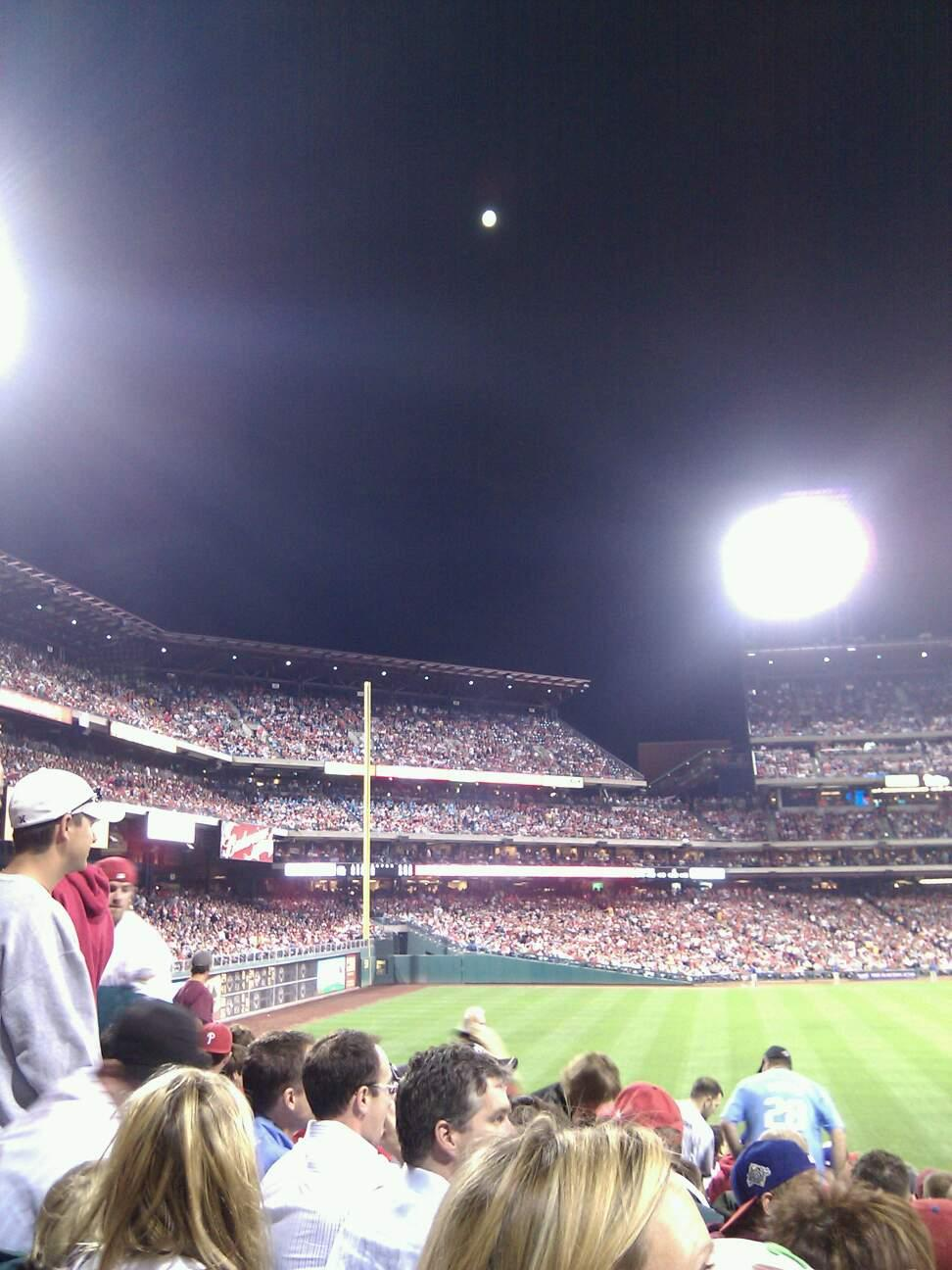 Citizens Bank Park Section 147 Row 18 Seat 11
