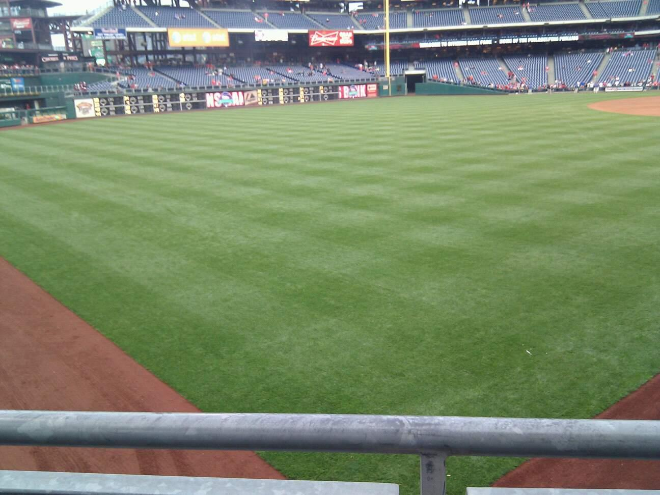 Citizens Bank Park Section 140 Row 23 Seat 4