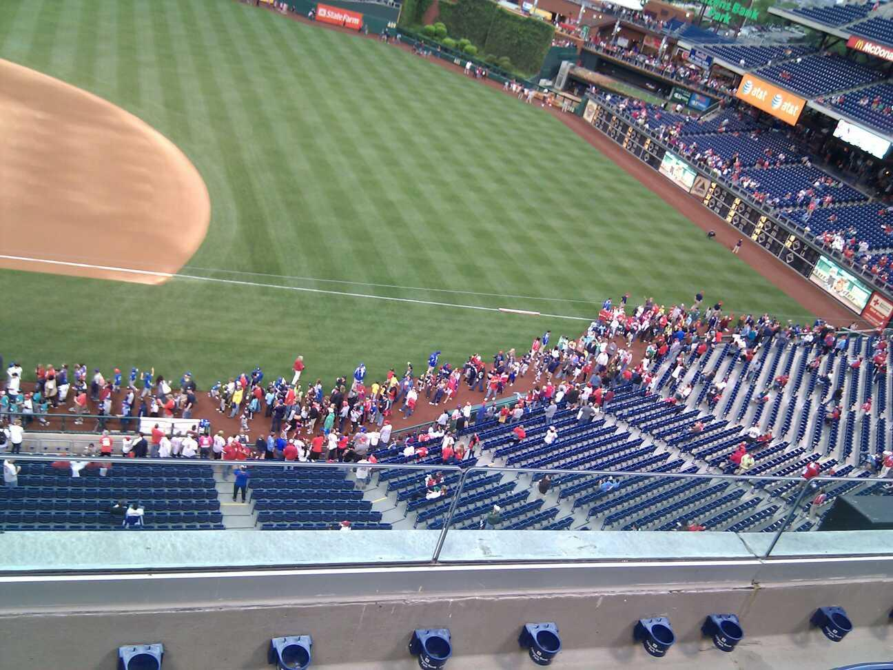 Citizens Bank Park Section 314 Row 4 Seat 18