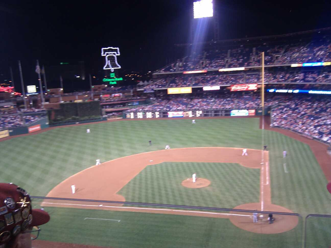Citizens Bank Park Section 324 Row 2 Seat 15