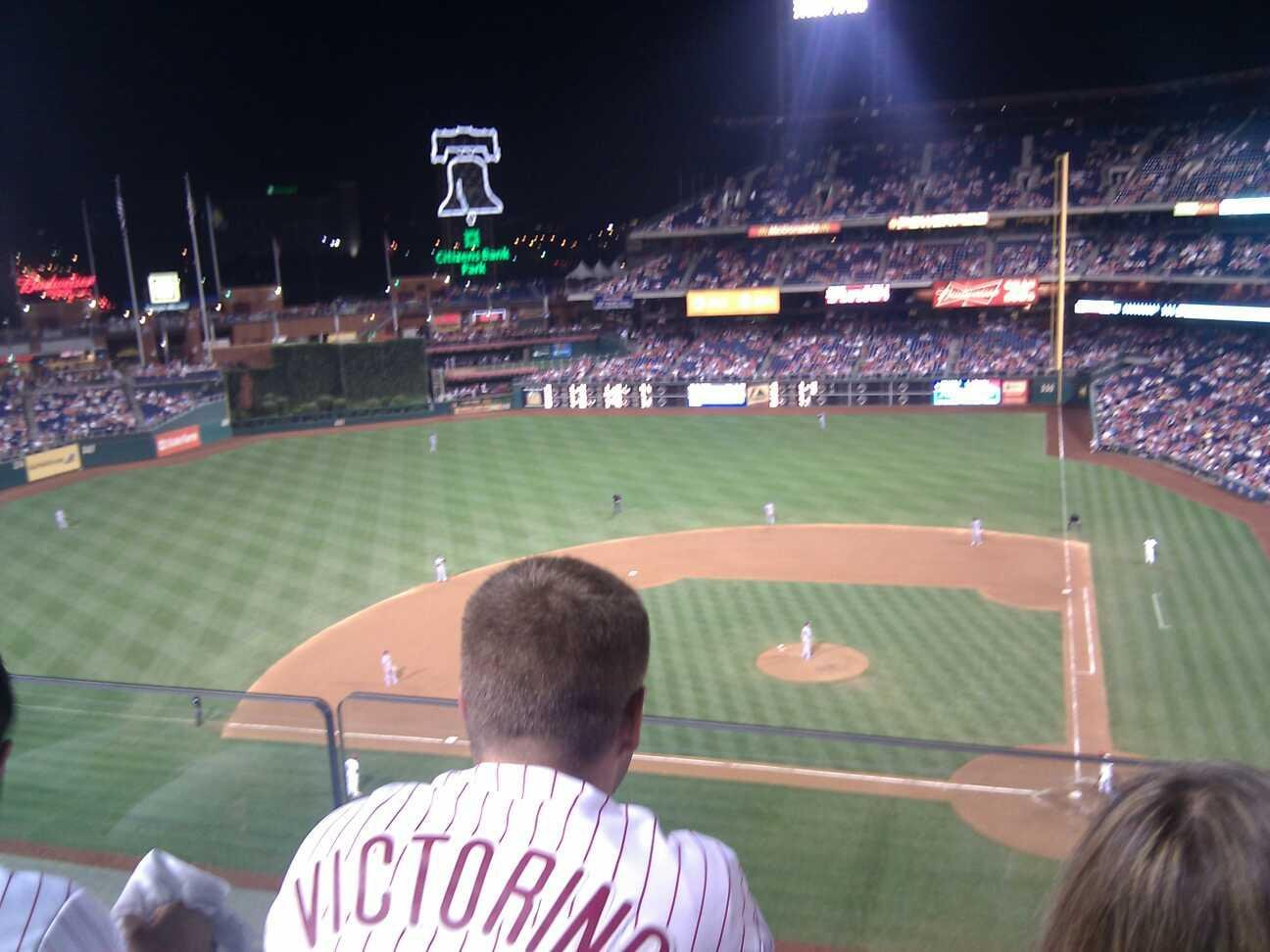 Citizens Bank Park Section 324 Row 2 Seat 19