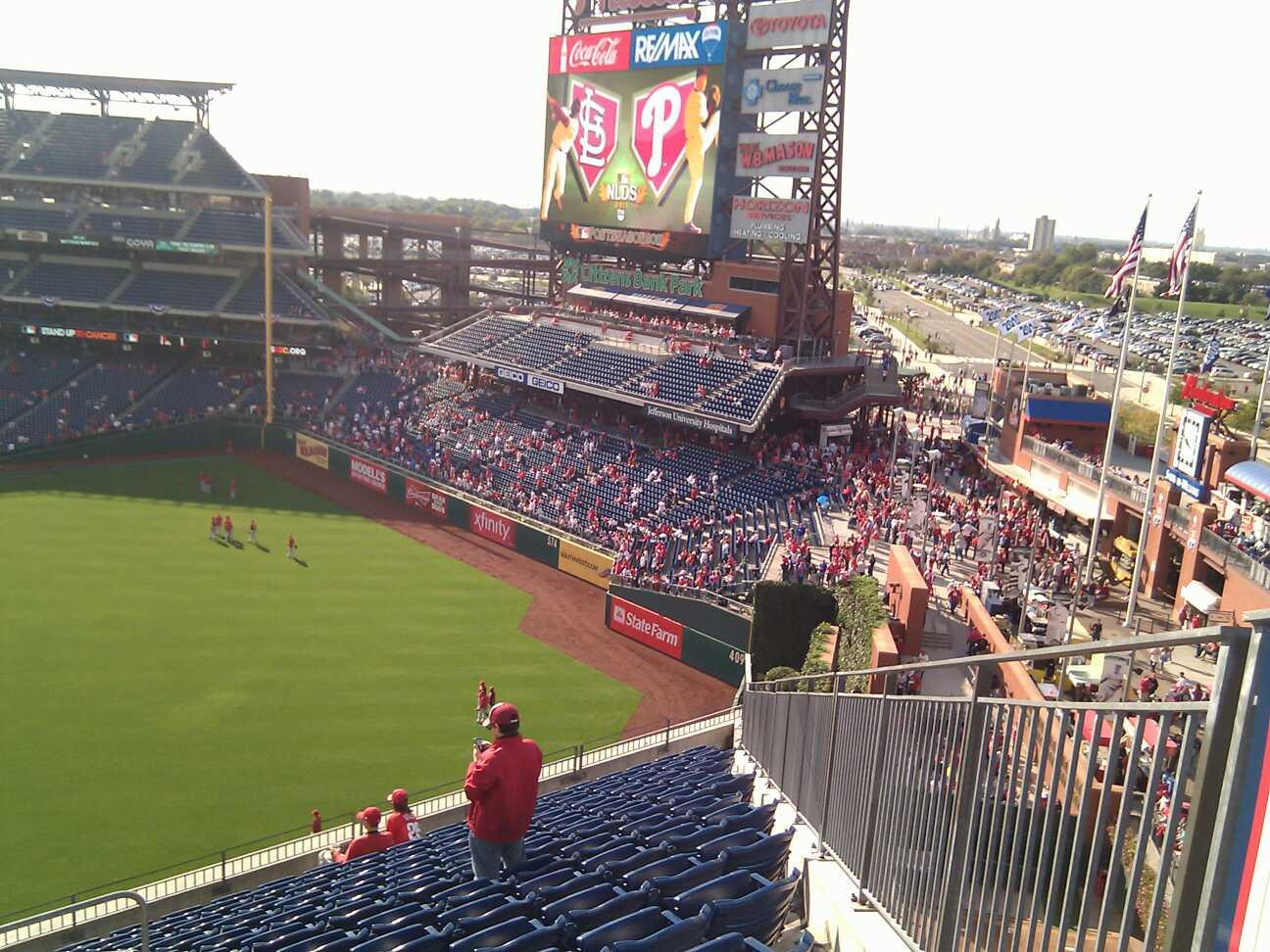Citizens Bank Park Section 301 Row 14 Seat 24
