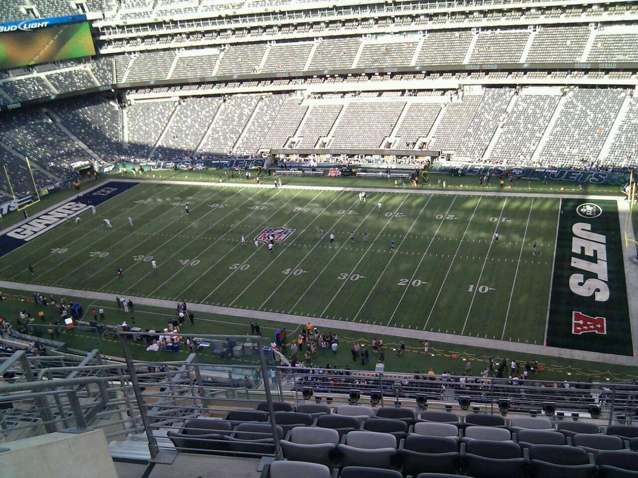 MetLife Stadium Section 335 Row 12 Seat 20