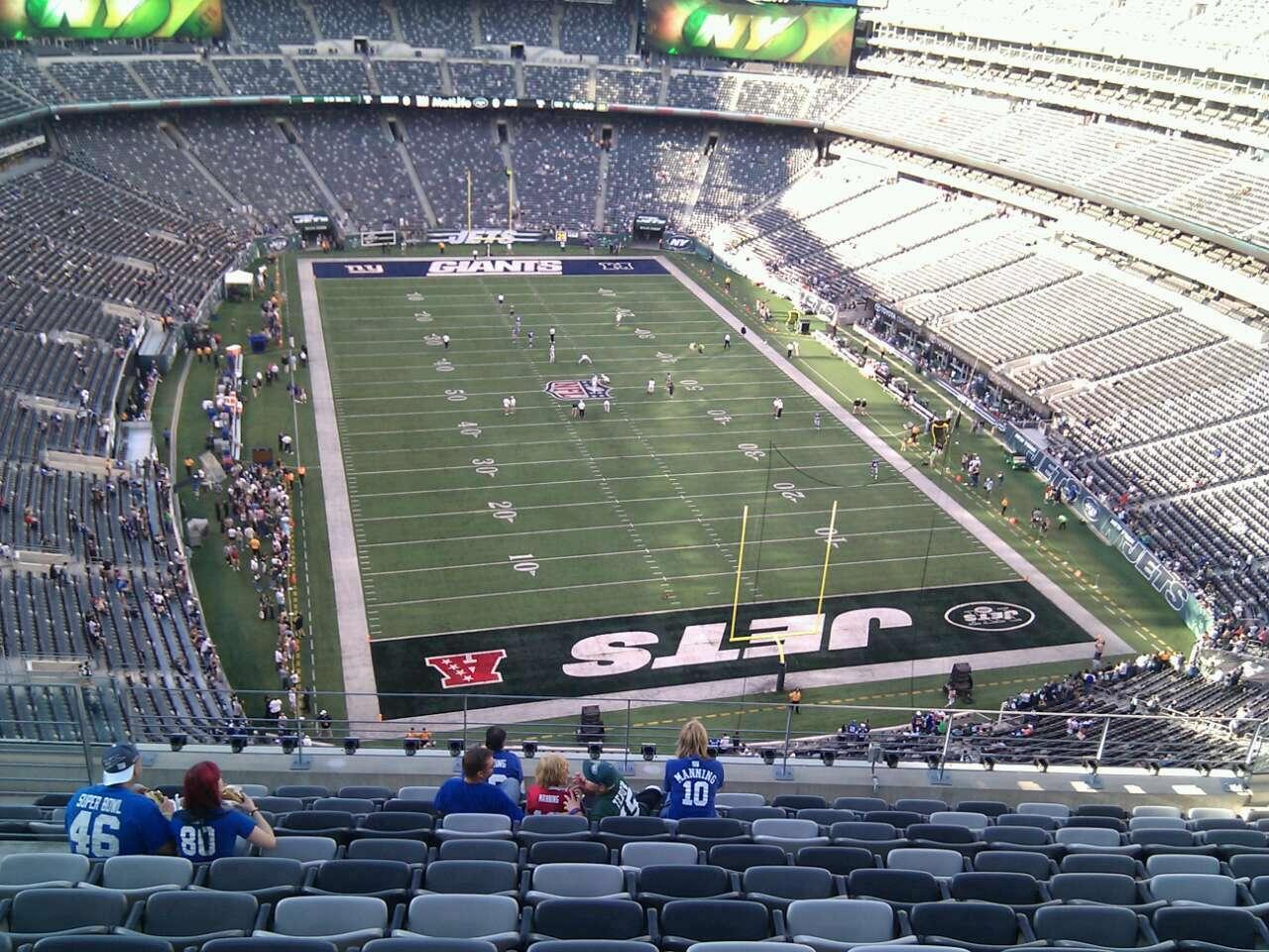 MetLife Stadium Section 328 - Giants/Jets - RateYourSeats.com