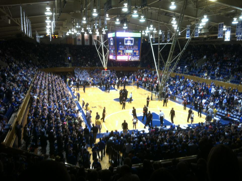 Cameron Indoor Stadium Section 2 Rateyourseats Com