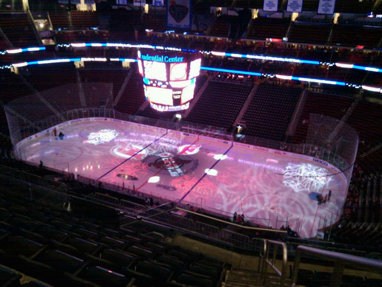 Prudential Center Section 214 Row 9 Seat 1